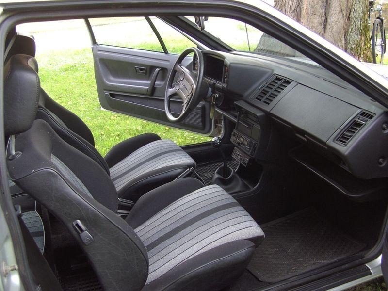 Golf 1 gti interieur for Interieur golf 2